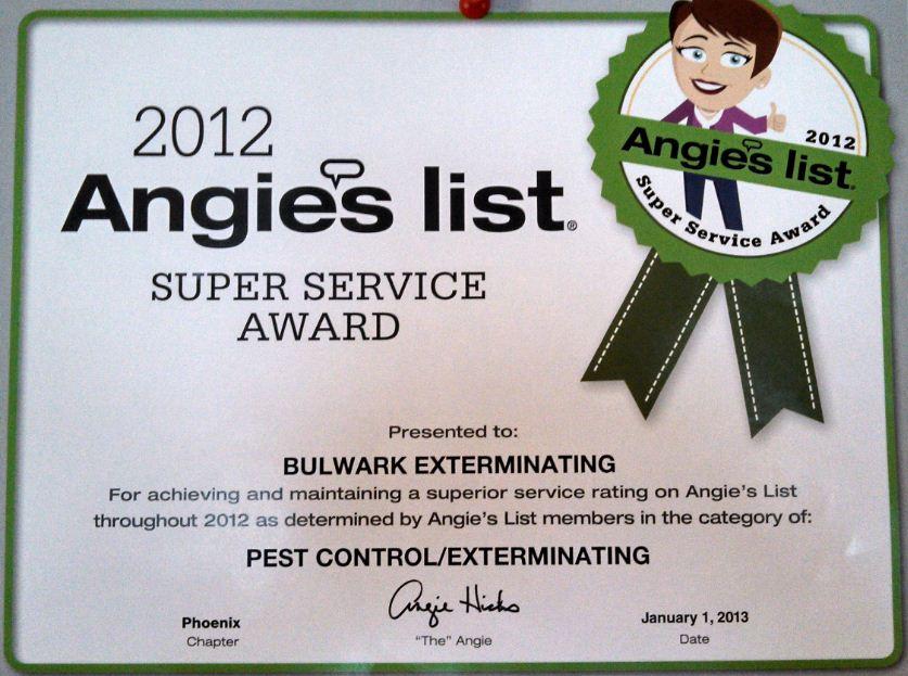 Angie Phoenix Bulwark Exterminating Phoenix Wins Prestigious Award